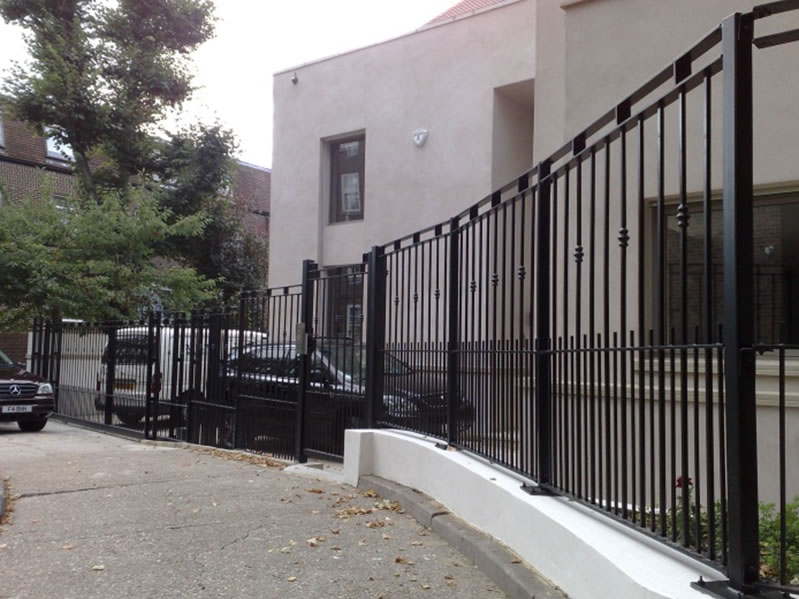 Railings Both Ornamental And Functional From Metalwood