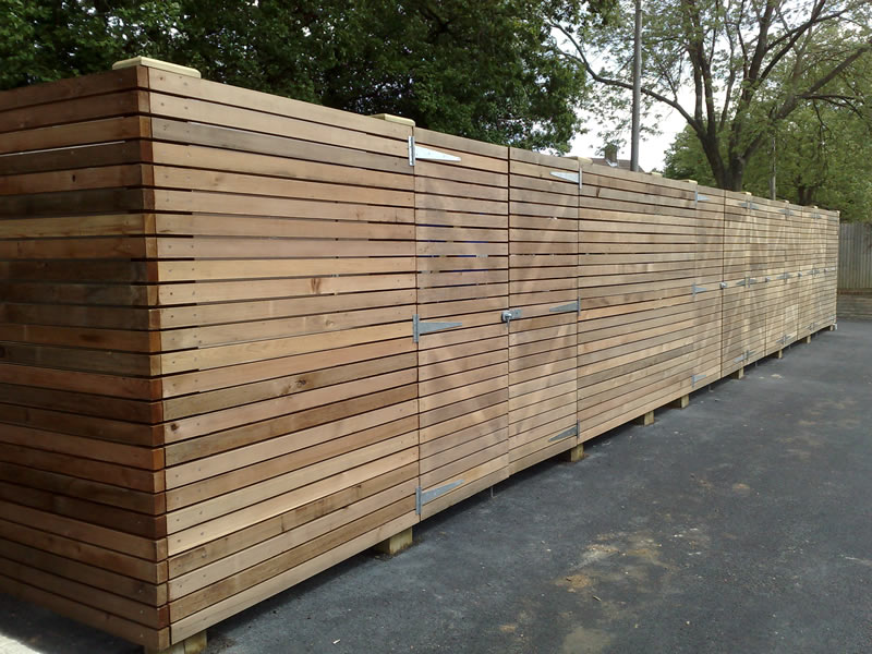 Timber wooden fencing supply and contractors